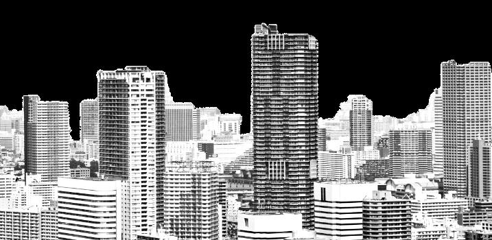 ビルが立ち並ぶ都市