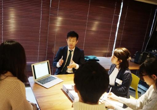 超優良企業と学生の出会いの場「DRAFT」ページへのリンク