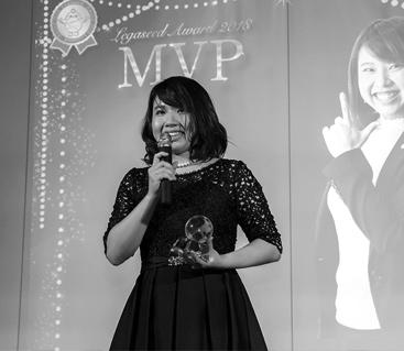 Legaseed AwardでMVPになった社員